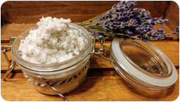 Lavender & Dandelion Sea Salt Scrub Workshop